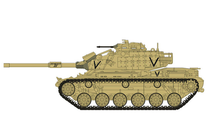 M60A1 Patton USMC, Iraq, Operation Desert Storm 1991