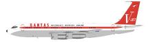 Qantas Boeing 707-100 N707JT, John Travolta With Stand