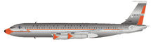 American Airlines Boeing 707-100 N7526A With Stand