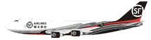 SF Airlines Boeing 747-400 B-2422 With Stand