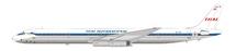Thai Airways International DC-8-63 HS-TGZ with stand