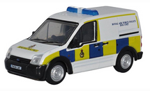 Ford Transit Connect Diecast Model RAF Police Dog Unit