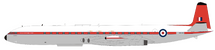 United Kingdom Royal Air Force (RAF) De Havilland DH-106 Comet 4C XS235 With Stand