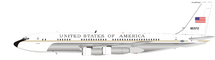USA Air Force Boeing VC-137B (707-153B) 58-6972 Polished With Stand