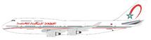 Royal Air Maroc RAM CN-RGA Boeing 747-428 with stand