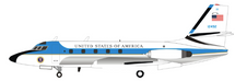 USAF Lockheed VC-140B JetStar (L-1329) 61-2492 with stand