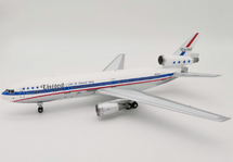 United Airlines McDonnell Douglas DC-10-10 N1817U Polished With Stand, Limited to 90 Models