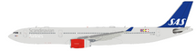 Scandinavian Airlines SAS Airbus A330-343 OY-KBN with stand, LTD 120 Models