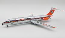 AeroMexico McDonnell Douglas DC-9-32 XA-AMA polished with stand