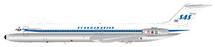 Scandinavian Airlines SAS DC-9-51 YU-AJU With Stand