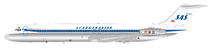 Scandinavian Airlines SAS DC-9-51 YU-AJT With Stand