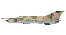 MiG-21SMT Fishbed Soviet Air Force, Blue 15, Dolgoye Ledovo, Russia
