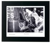 Framed Photograph of Mercury Aurora with Mercury Shingle Relic