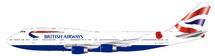 British Airways Boeing 747-400 G-CIVJ With Stand limited 84 models