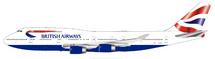 British Airways Boeing 747-400 G-BNLP With Stand limited 96 models