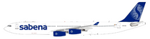 Sabena Airbus A340-300 OO-SCZ With Stand