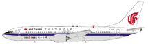 Air China Boeing 737-8 Max B-1178 With Stand