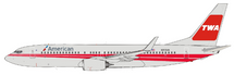 American Airlines Boeing 737-800 N915NN With Stand