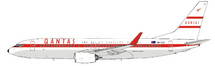 Qantas Boeing 737-800 VH-VXQ With Stand