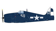 F6F-5 Hellcat USN VF-17 Jolly Rogers, White 50, USS Hornet