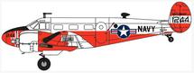 Beech UC-45J Expeditor NAS Miramar, U.S. Navy, 1963-1972