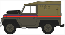 "Land Rover 1/2-Ton ""Lightweight"" (Canvas) Royal Air Force Police"