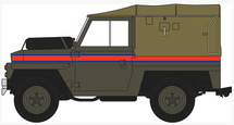 """Land Rover 1/2-Ton """"Lightweight"""" (Canvas) Royal Air Force Police"""
