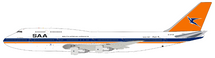 South African Airways Boeing 747-300 ZS-SAT With Stand