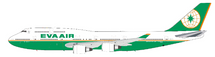 EVA Air Boeing 747-400 B-16411 With Stand