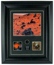Framed Mars Meteorite Print with Specimen