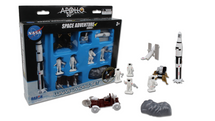 Moon Landing Set 50th Anniversary 9 Piece Space Play Set