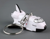 Space Shuttle Keychain w/Light and Sound Discovery