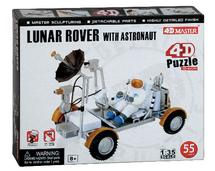 Lunar Rover w/ Astronaut 4D Puzzle 55 Pieces