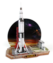 Saturn V Rocket 3D Puzzle 68 Pieces
