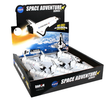 Space Shuttle Pullback Discovery 6 Piece in Counter Display