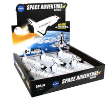 Space Shuttle Pullback Endeavour 6 Piece in Counter Display