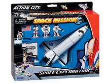 Space Shuttle 7-Piece Playset w/Kennedy
