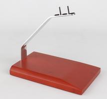 Executive Series Medium Mahogany Stand Flat Bar