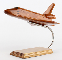 Natural Mahogany Wood Orbiter with Stand
