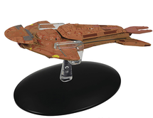 Cardassian Keldon Class Cruiser Diecast Model w/ Collector Magazine