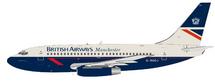 British Airways Manchester Boeing 737-200 G-BGDJ Delamere Forest With Stand