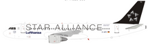 Star Alliance Lufthansa Airbus A320-211 D-AIPC With Stand