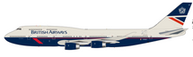 British Airways / Landor Boeing 747-400 G-BNLY With Stand 100 year Anniversary