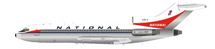 National Airlines Boeing 727-100 N4615 Polished With Stand