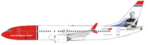 Norwegian Air Shuttle Boeing 737-8 MAX EI-FYA With Stand