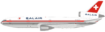 Balair McDonnell Douglas DC-10-30 HB-IHK Polished With Stand