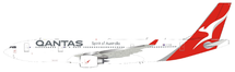 Qantas Airbus A330-200 VH-EBN With Stand
