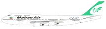 Mahan Air Boeing 747-300 EP-MNE With Stand Limited Edition