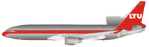 LTU Lockheed L-1011 D-AERC Polished With Stand