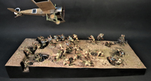 Gallipoli Terrain Base, The Gallipoli Campaign, The Great War 1914-1918, (1 pc)